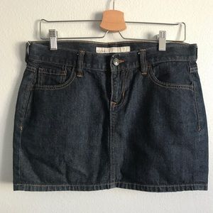 Old Navy Jean Mini Skirt . Size 6